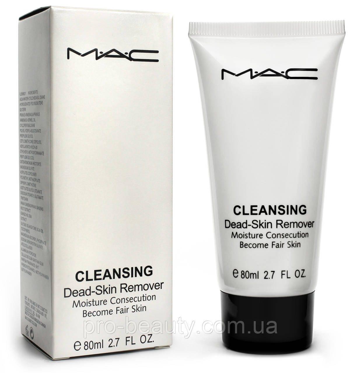 Гель-Пилинг скатка для лица MAC Cleansing DEAD-SKIN Remover(примята упаковка)