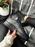 Nike Air Force Black (черные), фото 3