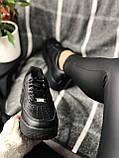 Nike Air Force Black (черные), фото 4