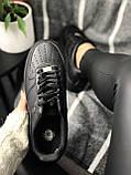 Nike Air Force Black (черные), фото 5