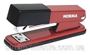 Степлер канцелярский металлический NОRМА 4122 №24/6 50 мм 20 л красный
