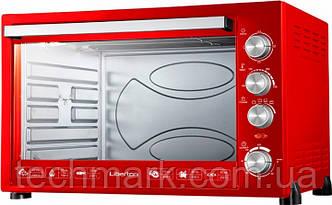 Электродуховка Электрическая печь LIBERTON LEO-800 Red (80 л.)