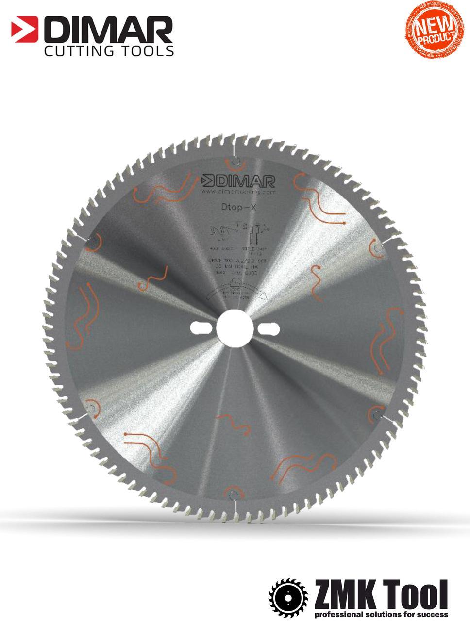 Пила DIMAR для чистого різу MFW 300 96Z 3.2/2.2 d=30 знешумлена