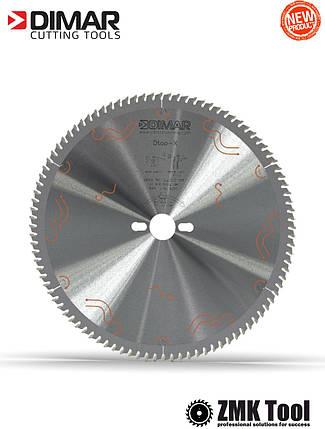 Пила DIMAR для чистого різу MFW 300 96Z 3.2/2.2 d=30 знешумлена, фото 2