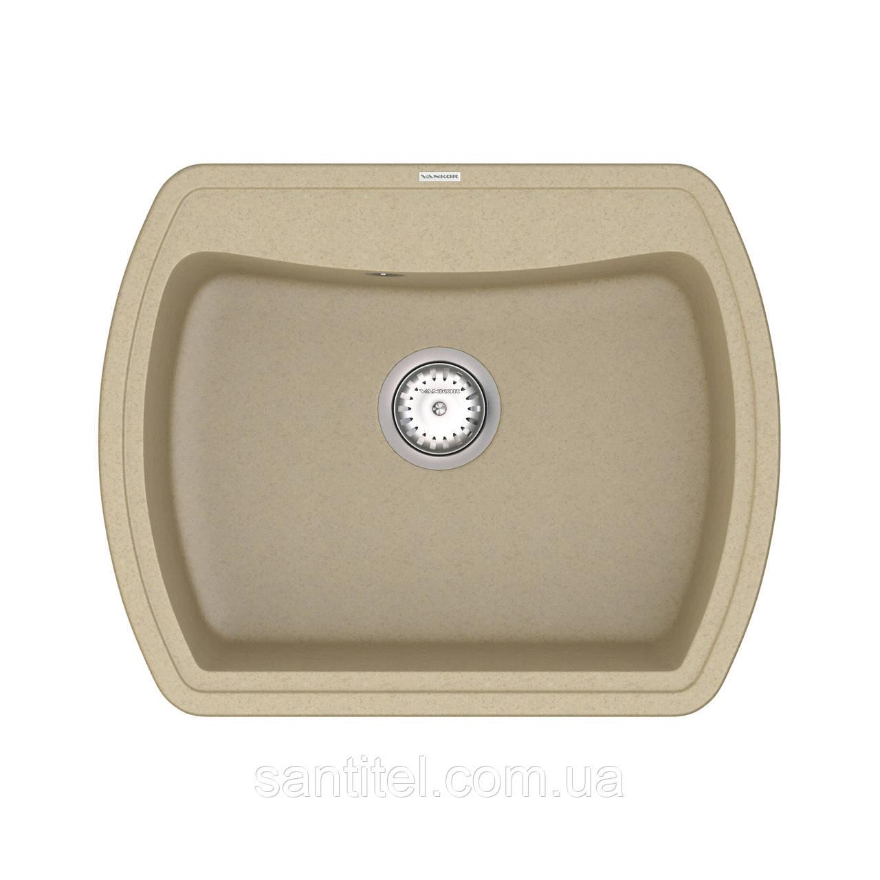 Кухонна мийка VANKOR Norton NMP 01.63 Safari + сифон VANKOR