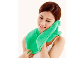 Полотенце Xiaomi ZSH Youth Series 140*70 Green, фото 3