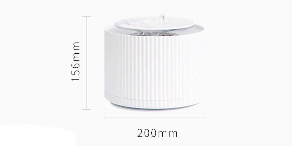 Умная поилка дозатор воды для животных Xiaomi Furrytail Smart Cat Water Dispenser White