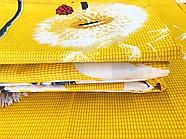 """Сімейний комплект (Бязь)   Постільна білизна від виробника """"Королева Ночі""""   Кульбабки на жовтому (Аміна), фото 2"""