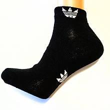 Чорні жіночі шкарпетки спортивні короткі розмір 36-41