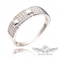 Кольцо серебряное с Фианитами Арт. P1346
