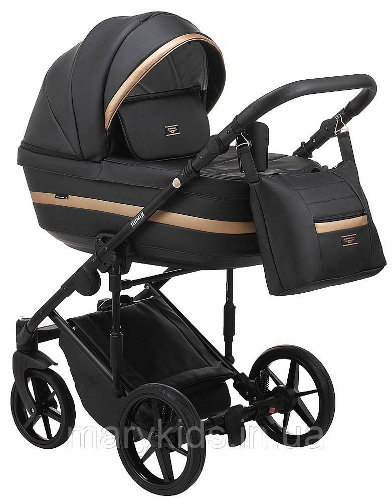 Детская универсальная коляска 2 в 1 Adamex Rimini Eco RI-203