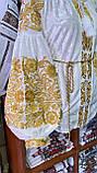 ВЕЛЮРОВА жіноча вишиванка в золоті💥💛⚜️, фото 7