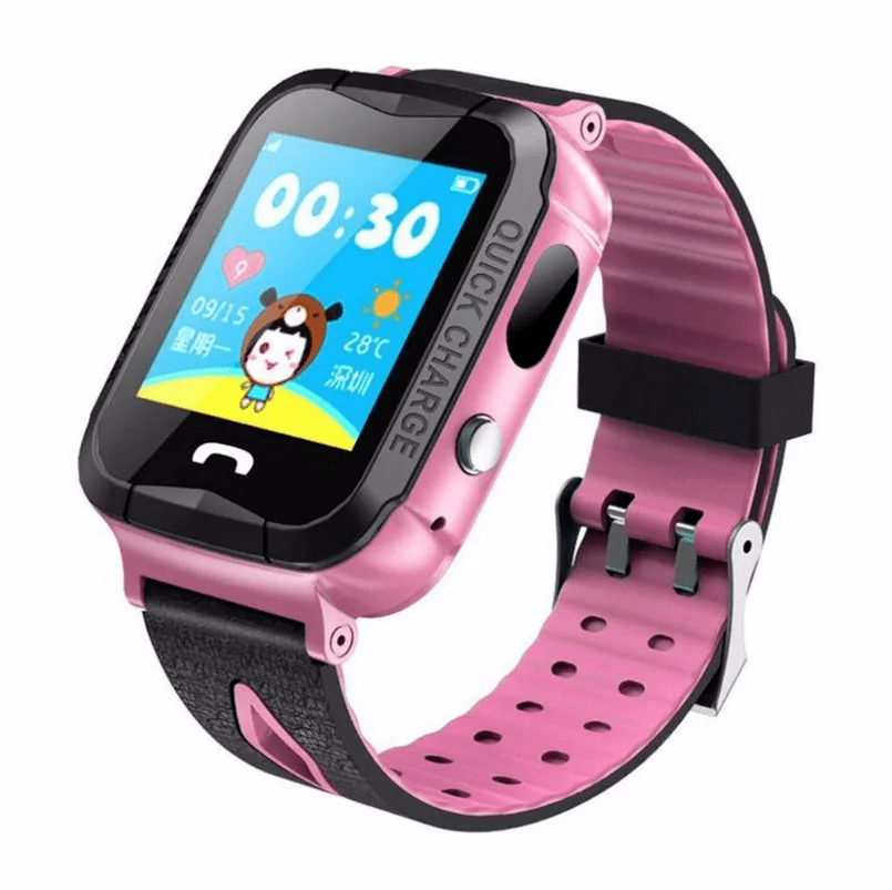 Детские наручные часы Smart G3, (Розовые)