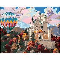 Набор акриловая живопись по номерам Dream Сastle 35х45см ROSA START