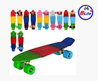 Доска-скейт для детей Пенни борд PROFI/Скейт PENNY BOARD PROFI /микс цветов