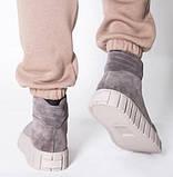 Ботинки молодежные на байке из натуральной замши от производителя модель НИ66-1, фото 3