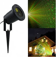 Светодиодный уличный лазерный проектор, зеленый красный цвет, DL-103