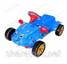 """Детская педальная машина с музыкальным рулем """"HERBY"""""""
