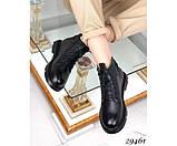 Черевики ззаду з декоративною шнурком, фото 6