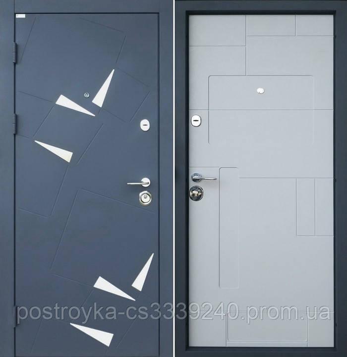 Дверь входная SteelArt Алькор DL-38 Металл/МДФ Порошковая покраска/Бетон кремовый левая или правая