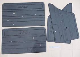 Оббивка дверей ВАЗ 2101 шкіра (пластикова основа) (к-кт 4 шт) ДЕЛ
