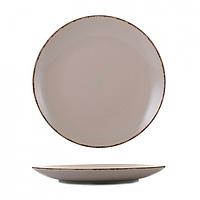 Тарілка кераміка 10,5 дрібна глазур пудра
