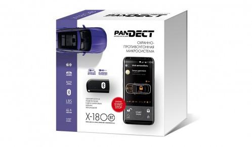 Автосигнализация Pandect X-1800BT GSM  Bluetooth, автозапуском двигателя
