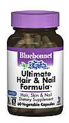 Окончательная Формула для Волос и Ногтей, Bluebonnet Nutrition, 60 гелевых капсул