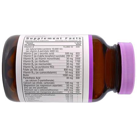 Окончательная Формула для Волос и Ногтей, Bluebonnet Nutrition, 60 гелевых капсул, фото 2