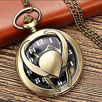 Карманные часы на цепочке Локи, фото 3