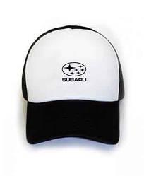 Спортивная кепка Subaru, Субару, тракер, летняя кепка, мужская, женская, ,черного цвета, копия