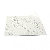 Тарелка квадратная светлый камень 21 см G1638
