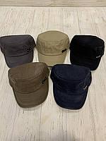 Кепка-немка взрослая мужская джинсовая FS размер 57-60 см, цвета указывайте при заказе, фото 1