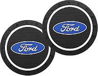 Коврик в подстаканник Ford 72 mm (2 шт)