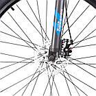 """Велосипед горный найнер 29"""" BeGasso Legend рама 19"""" Черно Синий на рост 170-185 см, фото 5"""