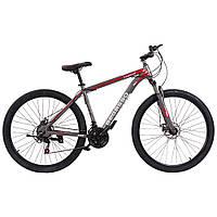 """Велосипед гірський найнер 29\"""" BeGasso Legend рама 19\"""" Чорно Червоний на ріст 170-185 см, фото 1"""