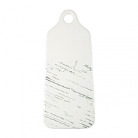Тарелка доска светлый камень 35*13,5 см