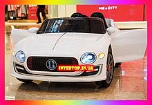 Детский электромобиль на пульте управления Bentley (Бэнтли) 8866 белый