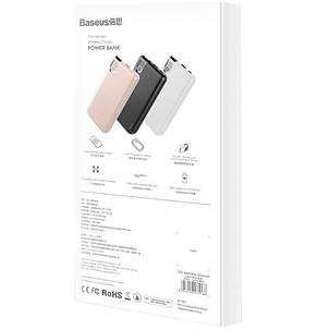 Дополнительная батарея Baseus Thin Version Wireless Charger 10000mAh Black PPALL-QY01, фото 2