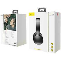 Беспроводные Bluetooth наушники Baseus  Encok D02  NGD02-01 Black, фото 3