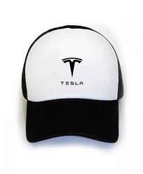 Спортивная кепка Tesla, Тесла, тракер, летняя кепка, мужская, женская, черного цвета, копия