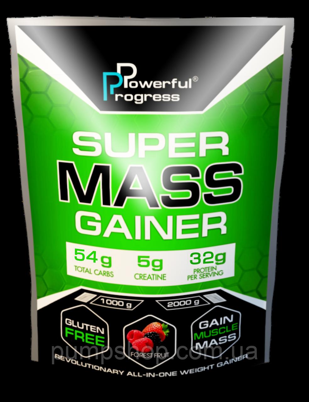 Вітамінний Powerful Progress Super Mass Gainer 2 кг (32% білка)