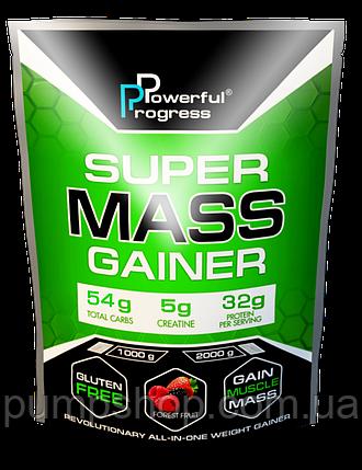 Вітамінний Powerful Progress Super Mass Gainer 2 кг (32% білка), фото 2