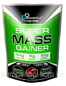 Гейнер Powerful Progress Super Mass Gainer 2 кг (32% белка)