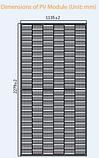 Фотоелектричні модулі CSP18-72H 540W, фото 2