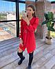 Нарядное платье из костюмной ткани,  костюмка Барби. Размер:  S, M. Разные цвета. (9029), фото 6