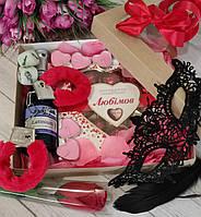 """Эротический набор  с наручниками """"Эротический Вечер"""" на 8 Марта, День Влюбленных, фото 1"""