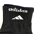 Чорні спортивні чоловічі шкарпетки розмір 41-45, фото 5