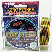 Леска Winner King Fisher 0,25mm 100м.