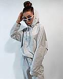 Жіночий спортивний костюм стильний в стилі oversize (Норма), фото 3